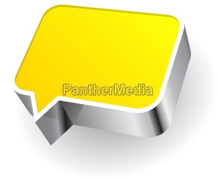 speech icon isolated on white background