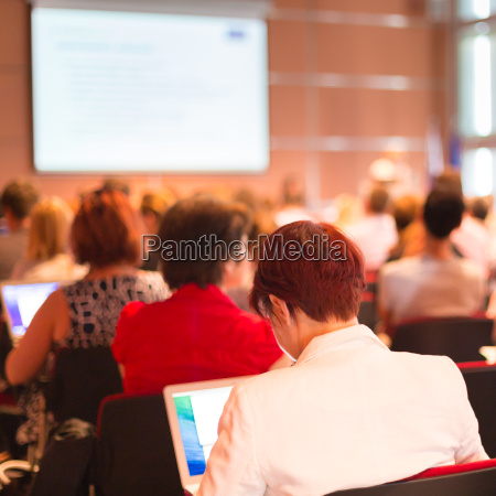 audience at the conference hall