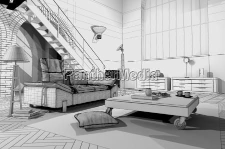 modernen loft