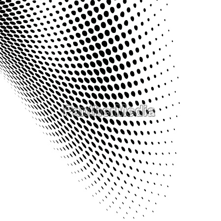abstract dynamic dots pattern background