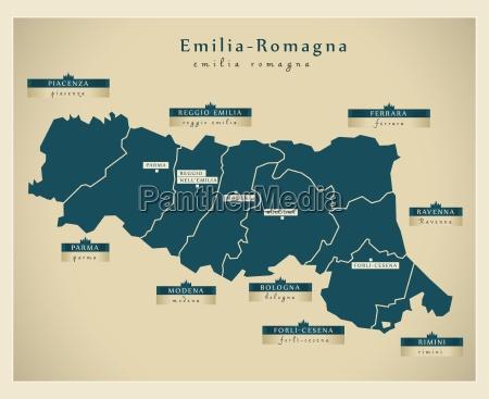 moderne landkarte emilia romagna it
