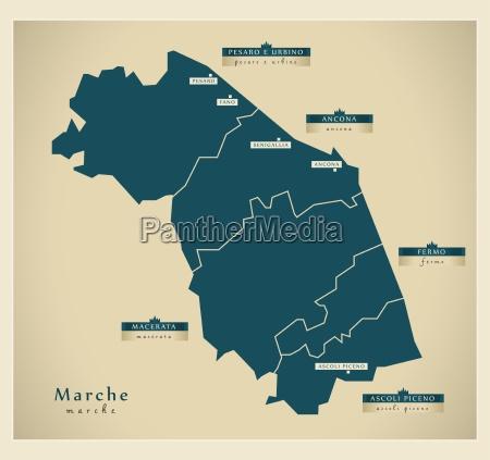 moderne landkarte marche it