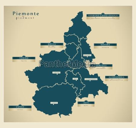moderne landkarte piemonte it