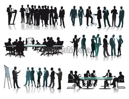 geschaeftliche gruppen meetings