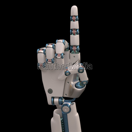 pointing robot