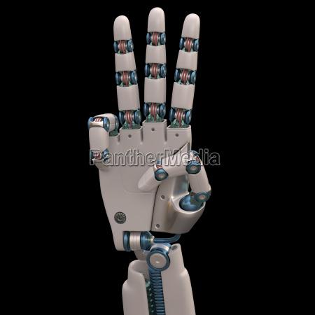 three robot