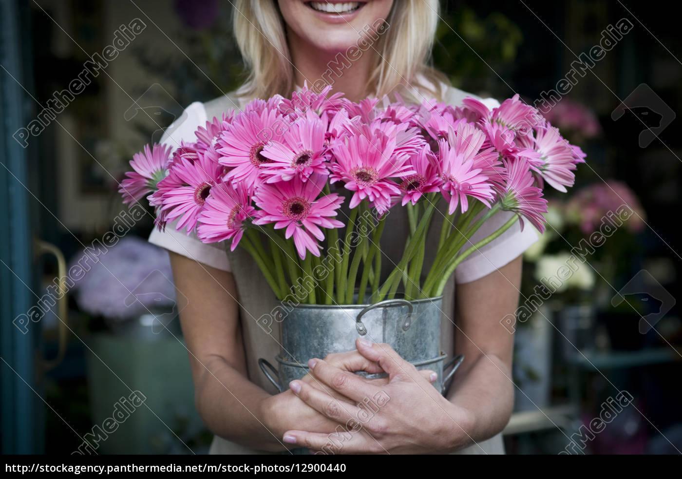 frau, lachen, lacht, lachend, belächeln, kichern - 12900440