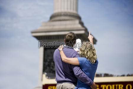 woman close travel city town monument