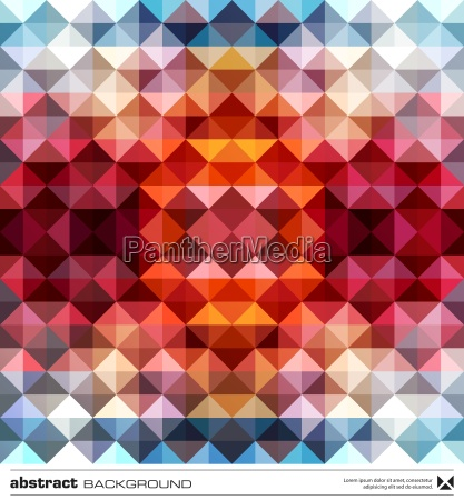 abstrakte bunte dreiecke hintergrund vector