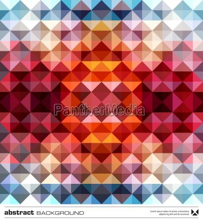 abstrakte, bunte, dreiecke, hintergrund., vector. - 12930568