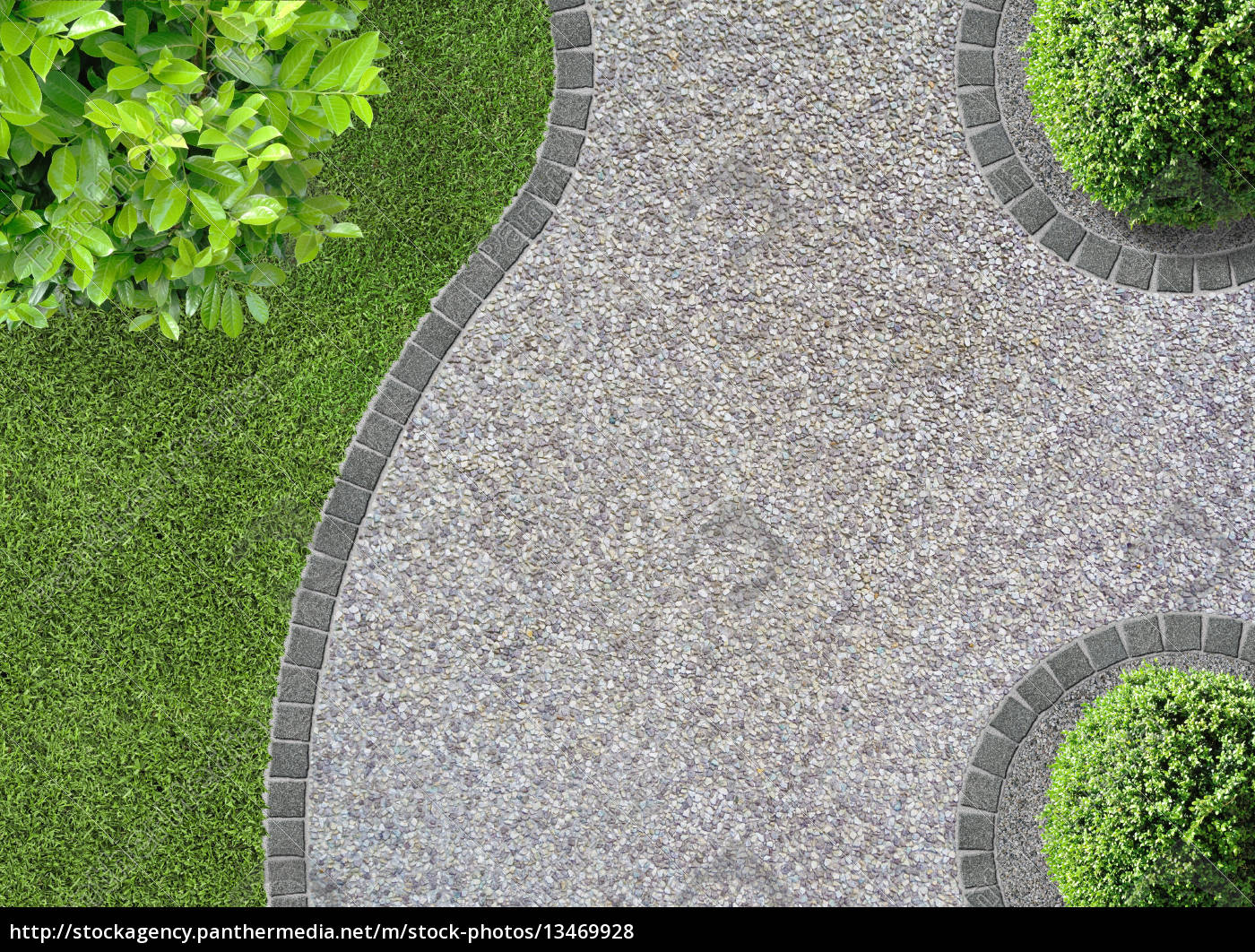 gartenwege anlegen – ideen für den kiesweg im garten – actof, Garten ideen