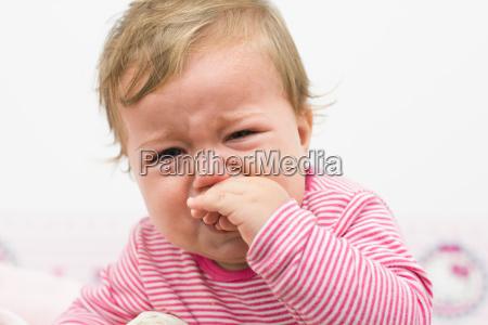 schreiende baby