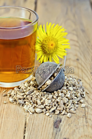 herbal tea from the root of