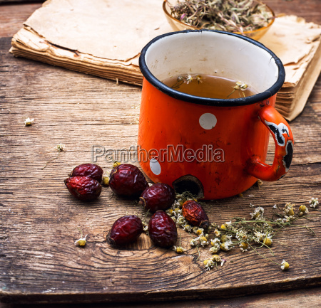 tea on medicinal herbs