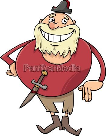 pirate character cartoon illustration