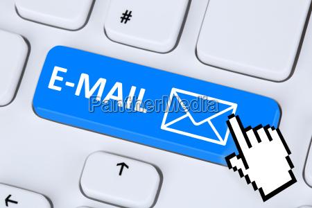 e mail nachricht message senden auf