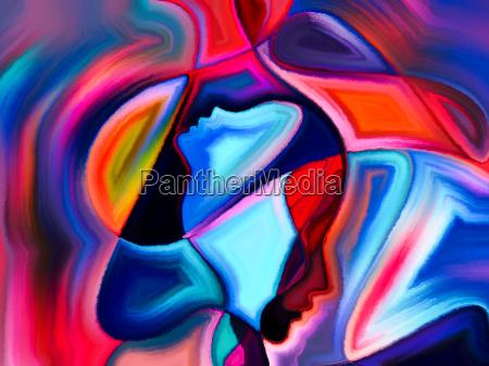 synergies of sacred hues