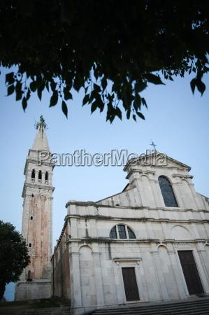 saint euphemia basilica in rovinj at