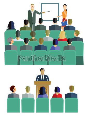 lehrgang und vortrag