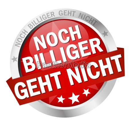 button with text noch billiger geht