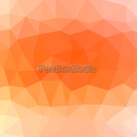 mosaic orange background abstract polygonal orange