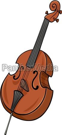 double bass cartoon clip art