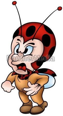 angry ladybug