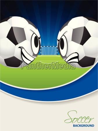 soccer match advertisimg poster brochure
