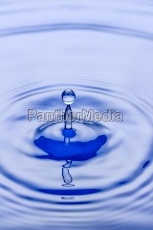 waterdrops splashing on water surface