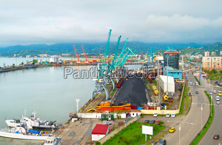 commercial sea port georgia