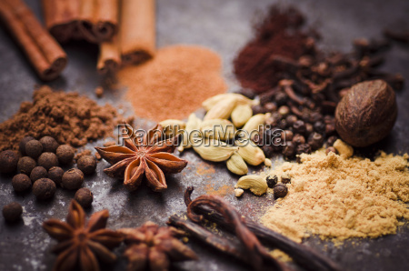 ingredients of gingerbread spice