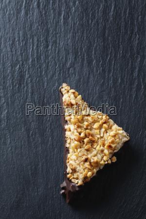 nut triangle on slate