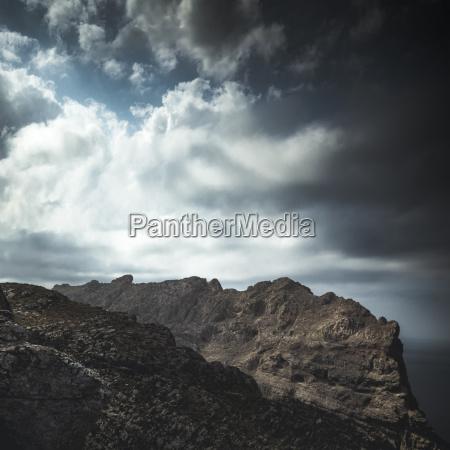 spain mallorca mountains near cap formentor