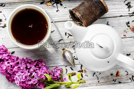 brewed herbal tea
