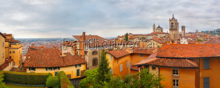 upper town citta alta bergamo lombardy