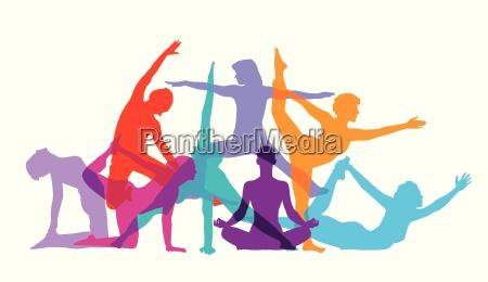 gymnastik und fitness