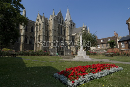 rochester cathedral rochester kent england united