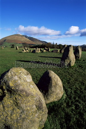 castlerigg stone circle keswick lake district