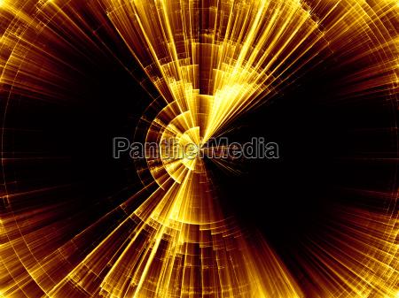 unfolding of burst rotation