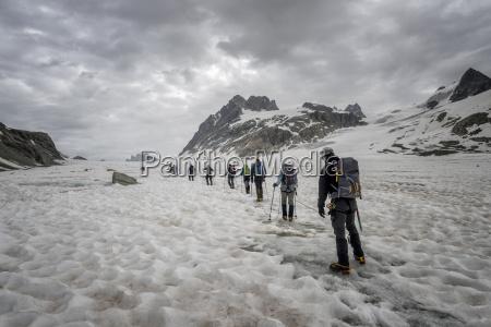 switzerland pennine alps otemma glacier