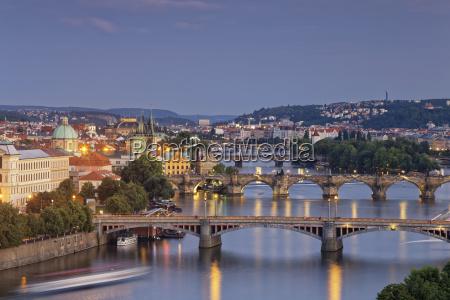 czech republic prague old town vlatva