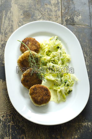 homemade fish patties with dill chinese