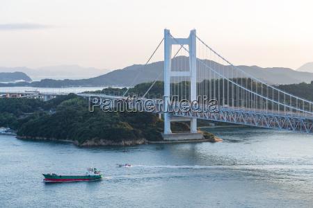 great seto bridge in japan