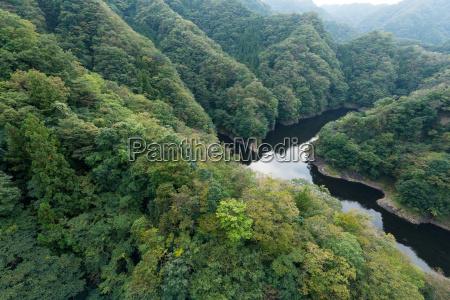 ryujin large suspension bridge