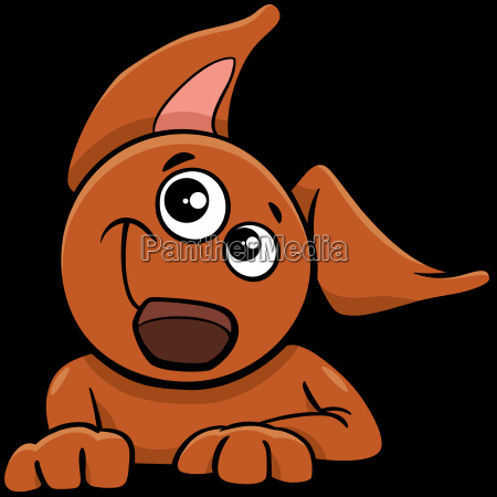 dog or puppy cartoon character