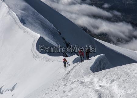 italy gressoney alps castor mountaineers