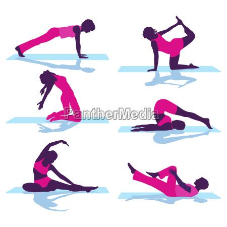 rueckengymnastik und bodengymnastik