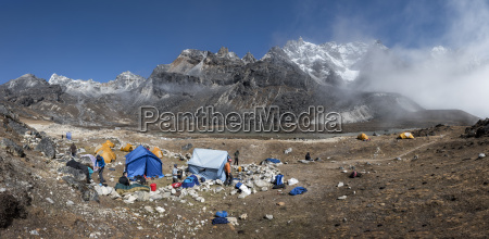 nepal himalaya khumbu everest region renjo