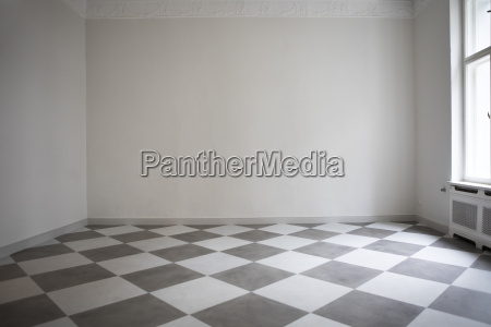 empty room in a flat