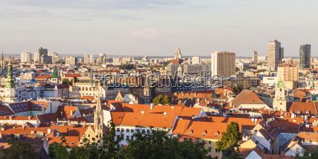 slovakia bratislava view to city center